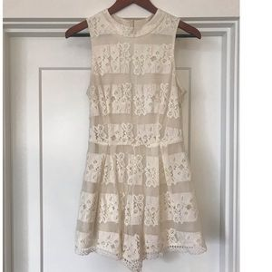Lace Romper worn once!